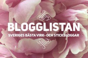 Snart kommer blogglistan – Sveriges bästa virk- och stickbloggar