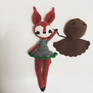 NINITHEFOX AV @CROCHETED.BY.TINA