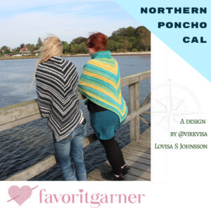 NORTHERN PONCHO CAL – SECRET GARDEN 8 GARNPAKET