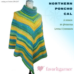 NORTHERN PONCHO CAL – SECRET GARDEN EGNA FÄRGVAL