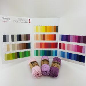 109-pack – Alla färger Cahlista (Scheepjes) 50 gram