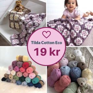 TILDA COTTON ECO – SVARTA FÅRET