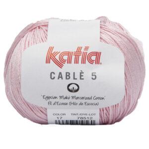 Ombré bordslöpare – Färgpaket Cablé 5 (Katia) 5-pack