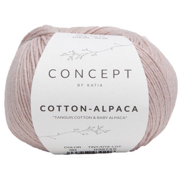 Garn Katia Concept Cotton-Alpaca Bomull Baby Alpaca 90