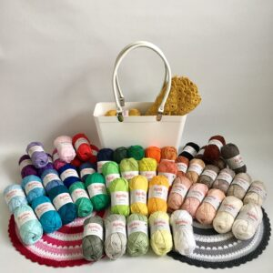 64 – pack – Alla färger Capri (Katia) 50 gram