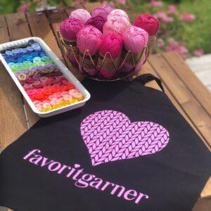 Happy Spring Mandala CAL – Garn Catona (välj bland 82 färgpaket)