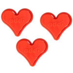 Addi stickhållare – Hjärta 5,5-10 mm