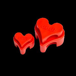 Addi stickhållare – Hjärta 1,5-5,0 mm och 5,5-10 mm