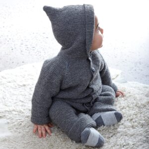 Pappersmönster Babyoverall 901-2605 – Flera garnalternativ