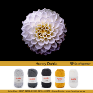 HONEY DAHLIA – FÄRGPAKET