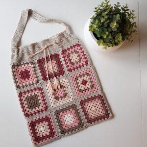 Väska av mormorsrutor