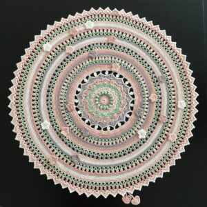 Happy Spring Mandala CAL – Garn Capri (välj bland 27 färgpaket)