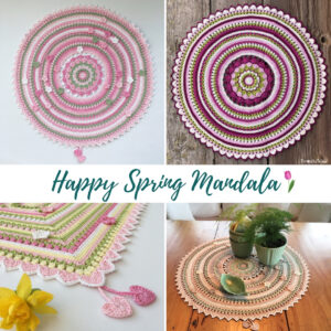 MÖNSTER – Happy Spring Mandala + Ruta
