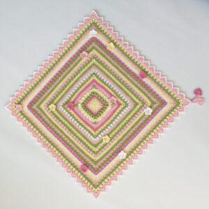 Happy Spring Mandala CAL – Garn Cablé 5 (välj bland 19 färgpaket)