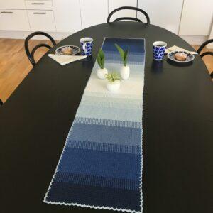 Ombré bordslöpare (& bordstablett) – ENDAST MÖNSTER