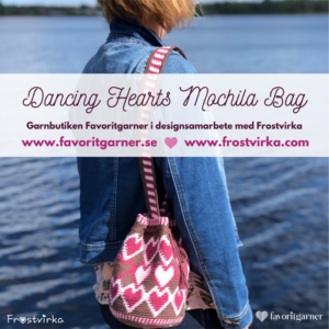 Dancing Hearts Mochila Bag – ENDAST MÖNSTER