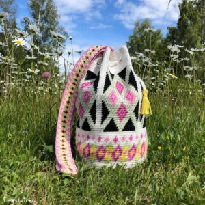 Rhapsody Mochila Bag – Endast mönster med garnförslag