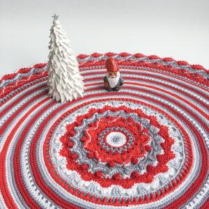Christmas Rose Mandala – Julkalender 2020 – ENDAST MÖNSTER