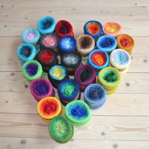 Christmas Rose Mandala – Julkalender 2020 – Cakegarn