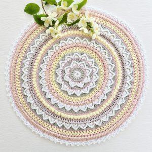 Flower Burst Mandala CAL – Olika färgpaket